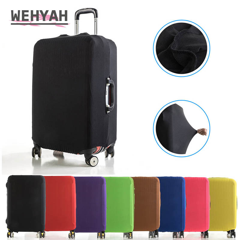 Wehyah Luggage-Cover Protective-Case Travel-Accessories Elestic Women ZY132 Solid 18''-24'' title=