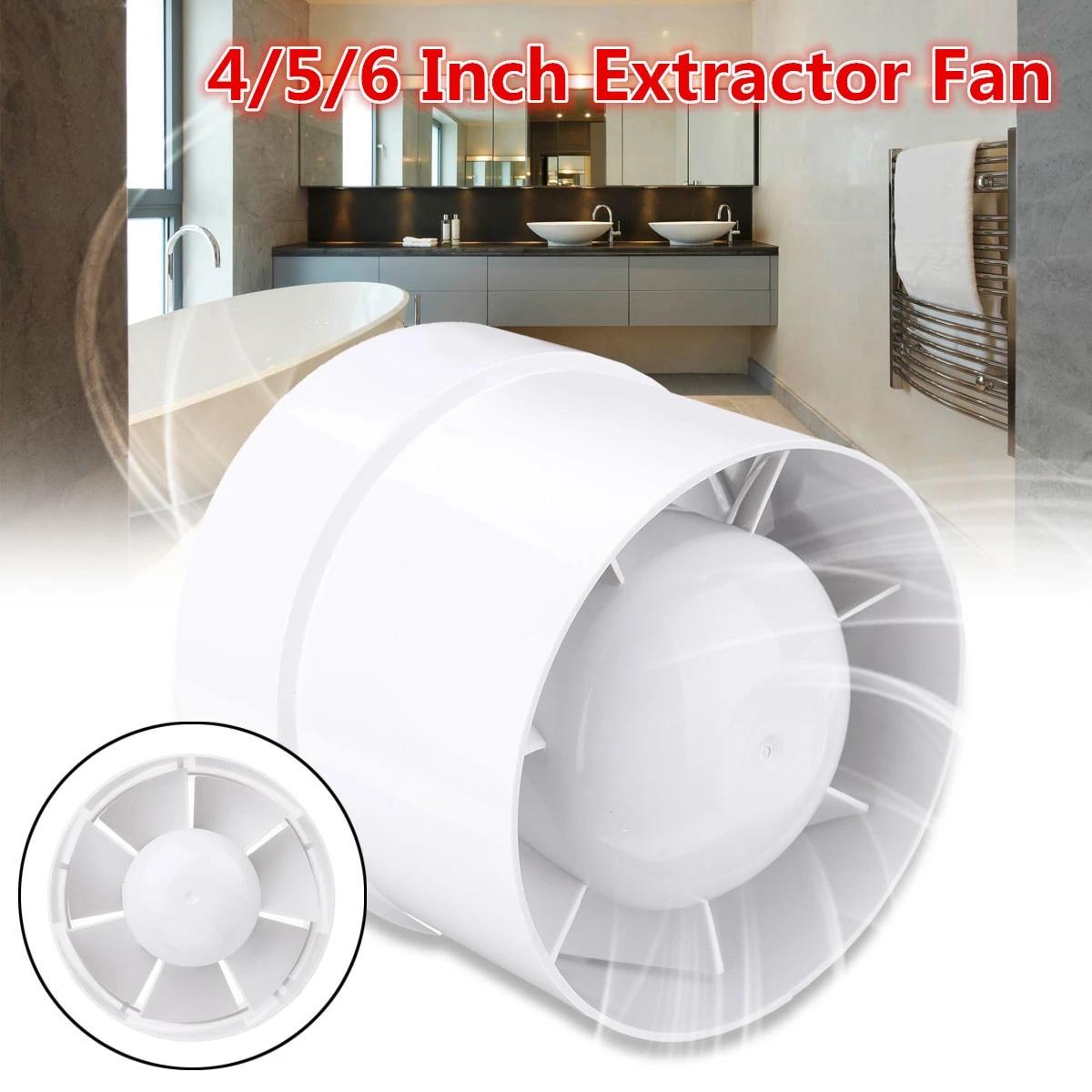 20/20/20 Inch Waterproof Mute Bathroom Extractor Exhaust Fan Window For Home  Kitchen Toilet Air Vent Ventilation Fans Extractor Fan