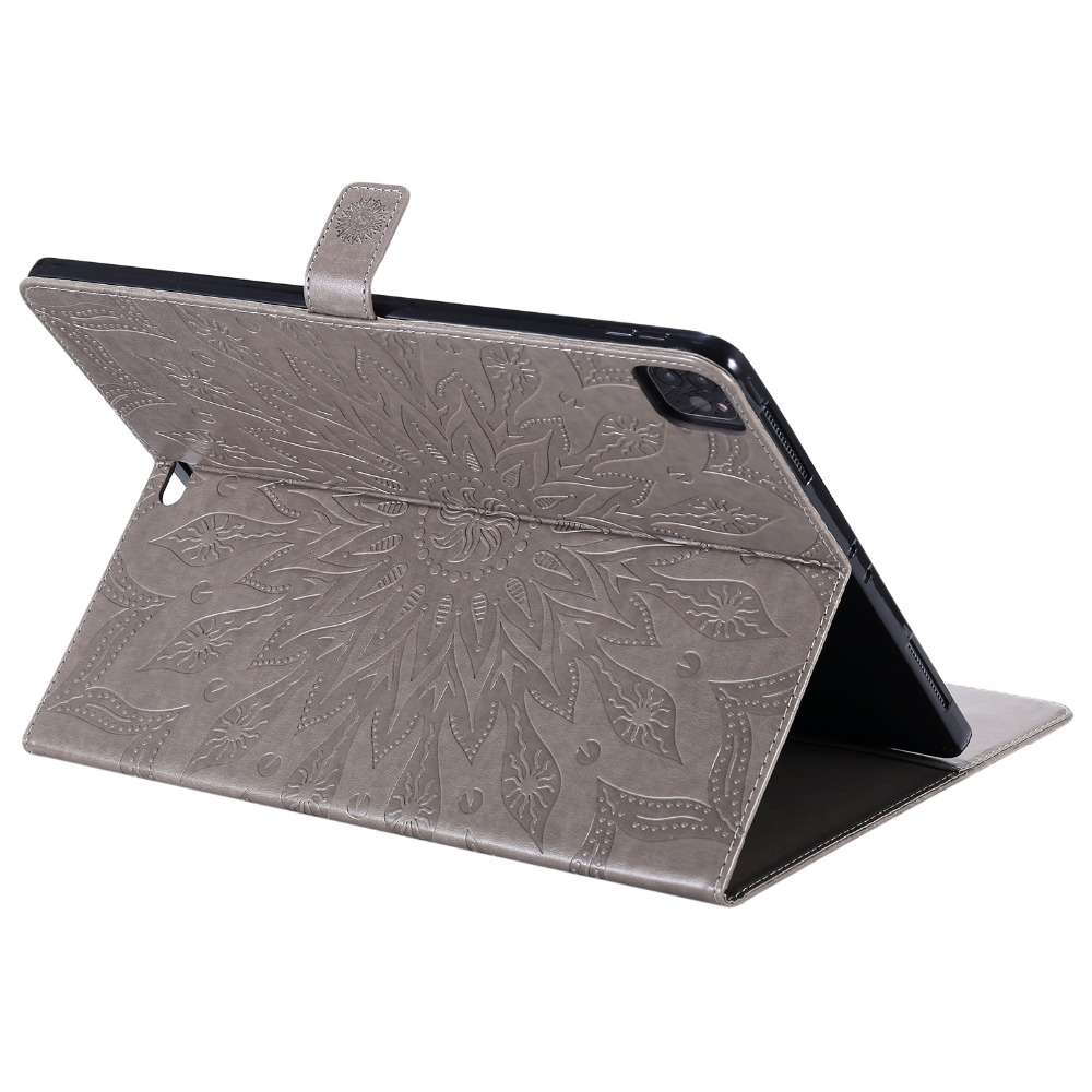 for Stand Coque Cover for Case iPad 9 2018 Wallet Flip Leather iPad 12 2020 Pro Fashion