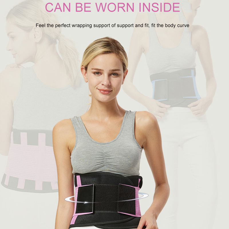 Waist Belt Protection Running Locomotion Bodybuilding Shaping Relieve Fatigue Health Breathable Waist Protection