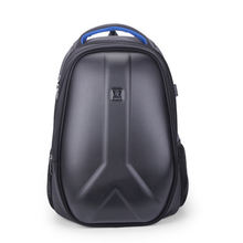 Hard shell backpack male multi function computer bag outdoor
