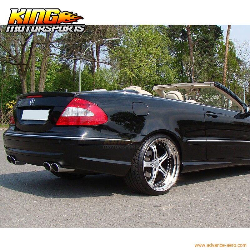 03-08 Benz CLK-Class W209 2Dr AMG Style Trunk Spoiler Carbon Fiber CF