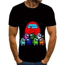 Nova eua dos desenhos animados 3d crianças manga curta camiseta impressão 3d gráficos do bebê das crianças hip hop unisex 3d camiseta roupas