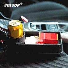Car Coasters Cup Holder Drinks Holders Car Organizer Seat Storage Box Car Gap Pocket Stowing Tidying Universal Folding