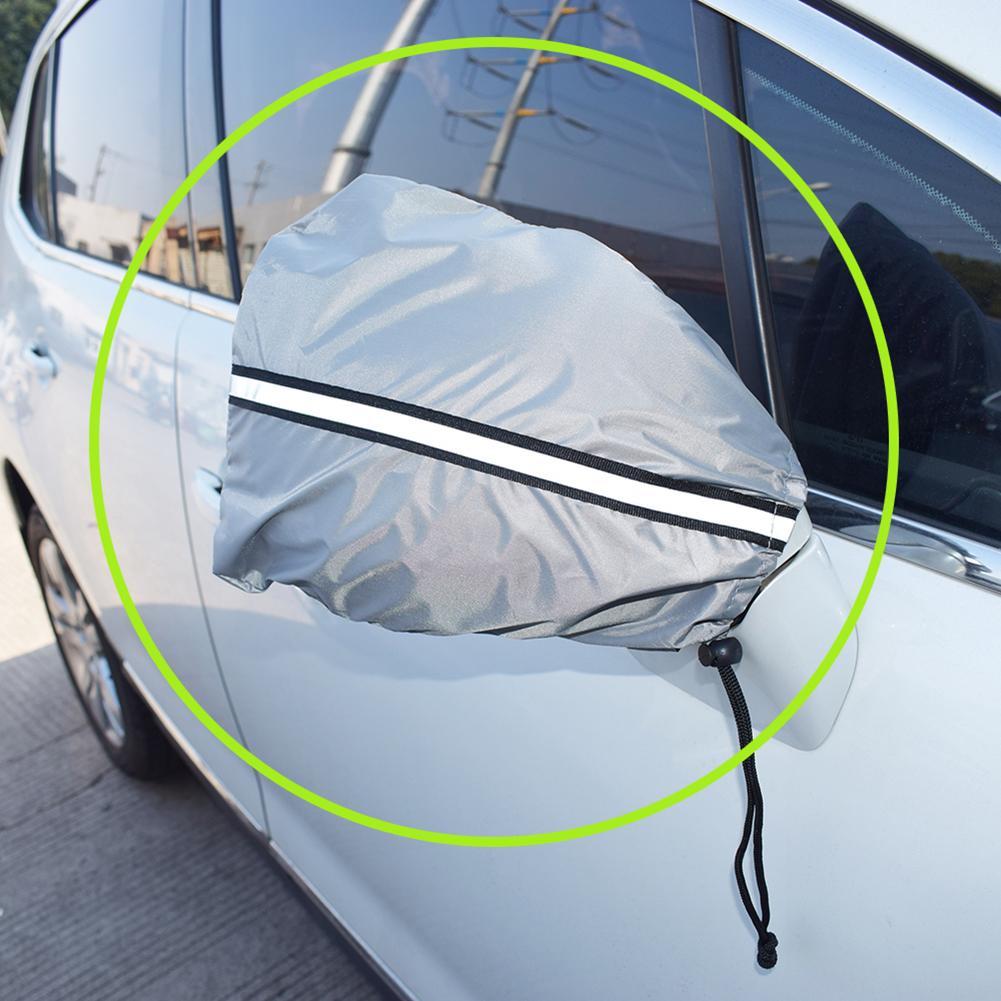 Cubiertas de espejo de nieve y hielo, cubierta protectora de espejo lateral de Auto, tamaño Universal se adapta a la furgoneta del camión del SUV del coche, cubierta Anti caca de pájaro 100x50cm alfombrilla de Deadener de sonido para coche aislamiento de ruido amortiguación acústica alfombrilla de Subwoofer de espuma accesorios para automóviles aislante acustico