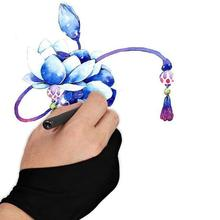 Glove Two-Finger-Glove Drawing Tablet Painting for Any-Graphics Artist R3Q2 L-K4m3 1-Pc