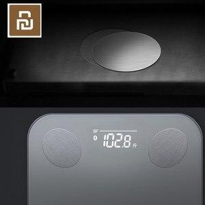 Image 4 - Умные весы Youpin YUNMAI Mini 2 для определения веса жира в теле, скрытый светодиодный дисплей с приложением на английском языке, умные весы для тела