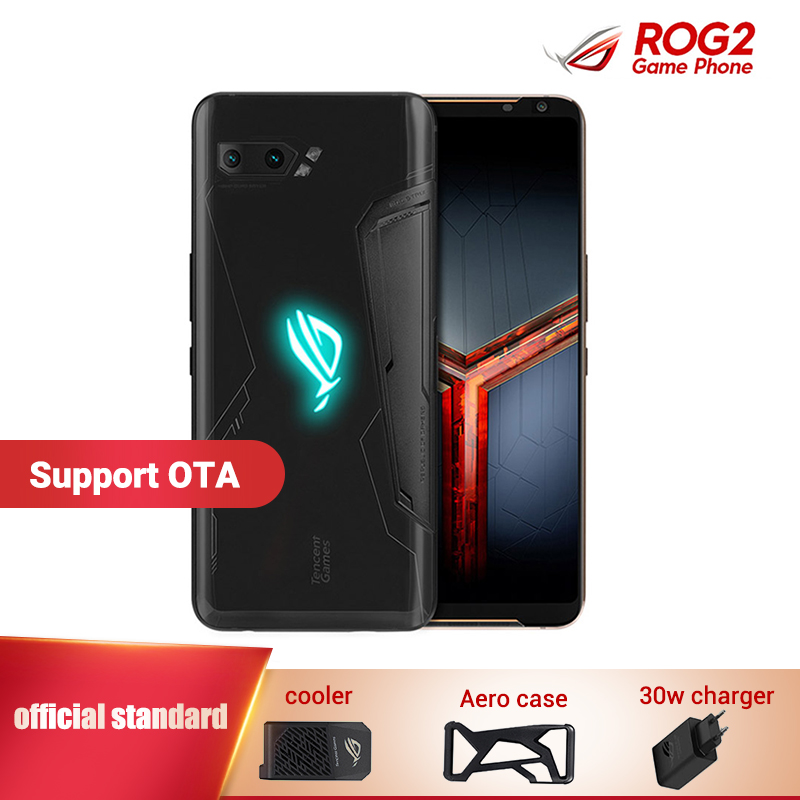 Asus ROG Phone 2 Gaming Smartphone 12GB 512GB 6.59 Asus ROG Phone II ZS660KL Snapdragon 855+ 6000mAh 48MP NFC Game Mobile Phone image