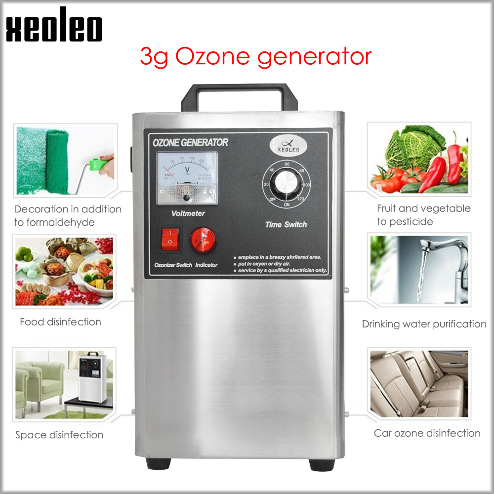 XEOLEO Ozone Generator Car Sterilization Ozone Disinfection Machine Oxygen Washing And Detoxifying Machine Remove Formaldehyde