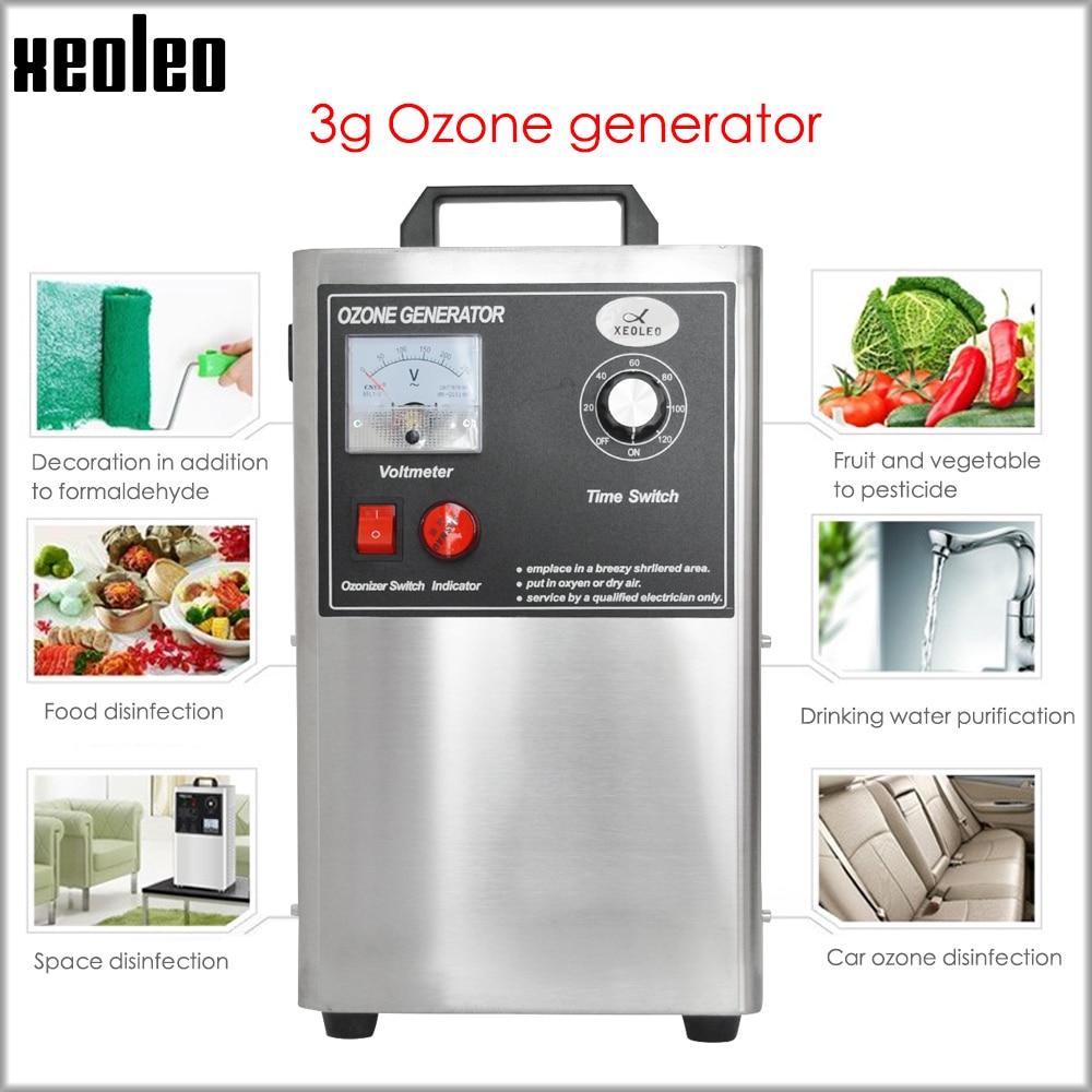 XEOLEO Ozone Generator Car Sterilization Ozone Disinfection Machine Oxygen Washing And Detoxifying Machine Remove Formaldehyde