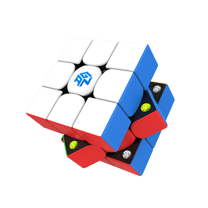 Fast Delivery GAN 356 M 3x3x3 Magnetism Magic Cubes  Puzzle Cube Professional Competition Gan 356m GES Magnetic Speed Magic Cube