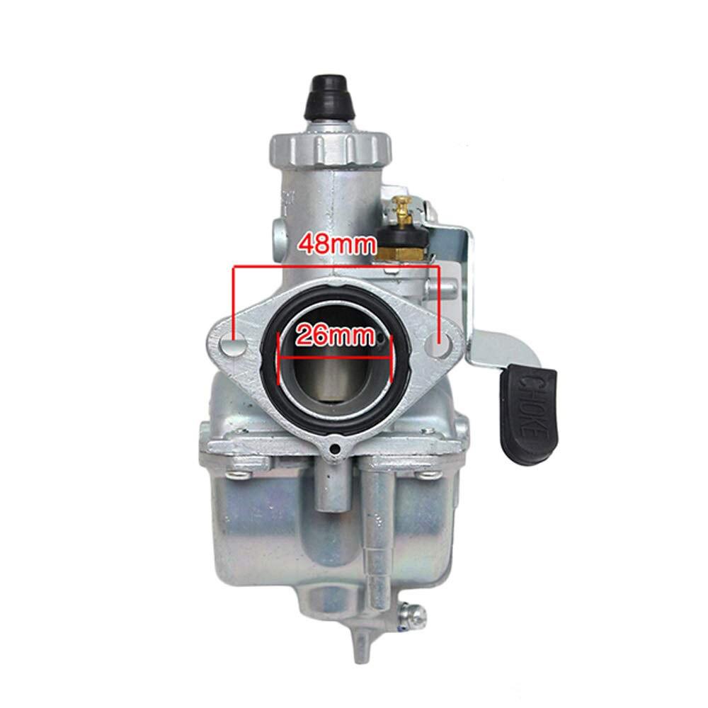 Auto Accessories VM22 26mm Car Carburetor Kit Fit for Mikuni Intake Pipe Pit Dirt Bike 110cc 125cc 140cc Lifan YX