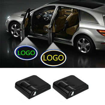 2X LED Car Door Welcome Light Logo Projector Ghost Laser Lamp For BMW E46 E36 E90 E60 E39 F10 F20 E91 E87 X5 E53 E70 X1 X3 X5 X6 image