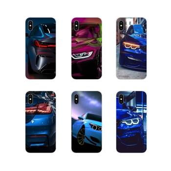 Accessories Phone Shell Covers Blue Red for Bmw For Huawei G7 G8 P8 P9 P10 P20 P30 Lite Mini Pro P Smart Plus 2017 2018 2019 image