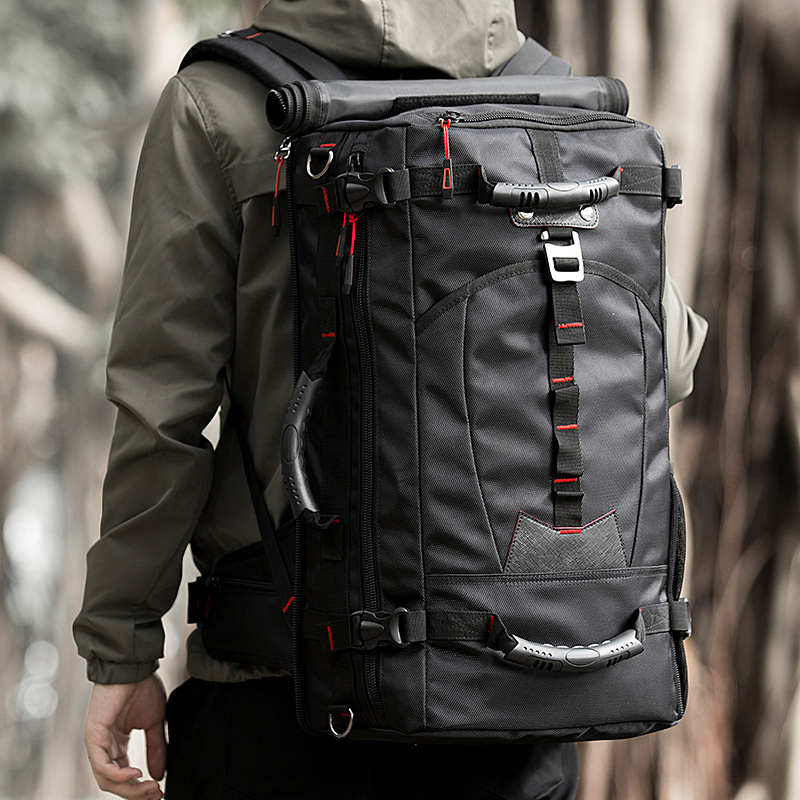 Men Travel 35L Backpack Multi-function Large Capacity Space Luggage Laptop Business Mountaineering Trip Male Casual Bags XA526ZC