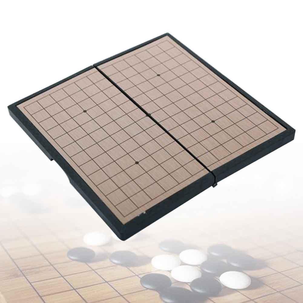 Gomoku magnétique pliable et Durable pour enfants, cadeau de voyage classique, petits jouets pour parents et enfants, jeu de société pour étudiants