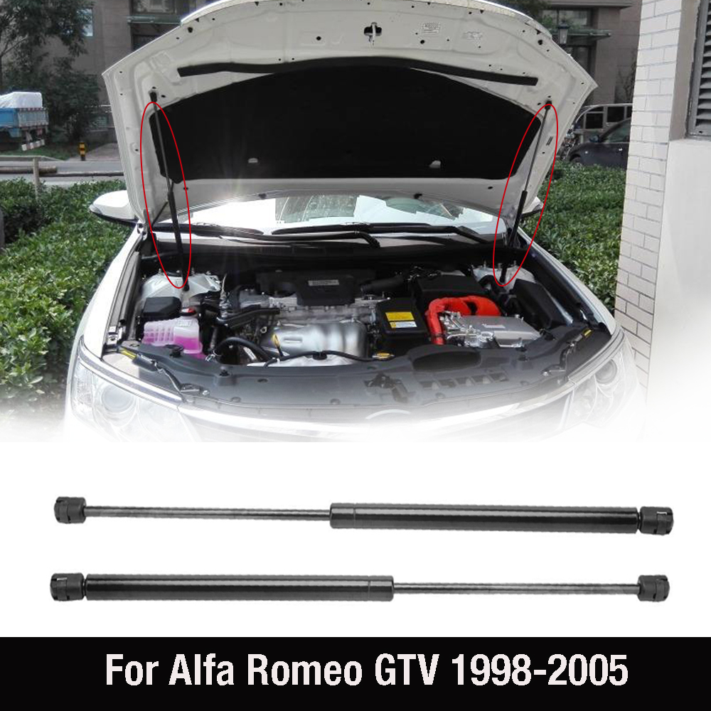 Gas Struts Rod Shock Lift Support Strut Spring Shock Strut Arm Rod Damper For Alfa Romeo GTV 1998-2005 1999 2000 2001 60689182