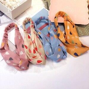 flower headband elastic hair bands scrunchie pack cute accessories for women opaska do wlosow head soft tiara acessorios cabelo
