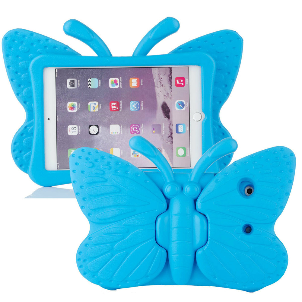 Colored Colored for iPad Air 4 Case 2020 A2316 A2324 EVA Safe Kids Handle Stand Tablet Case Cover
