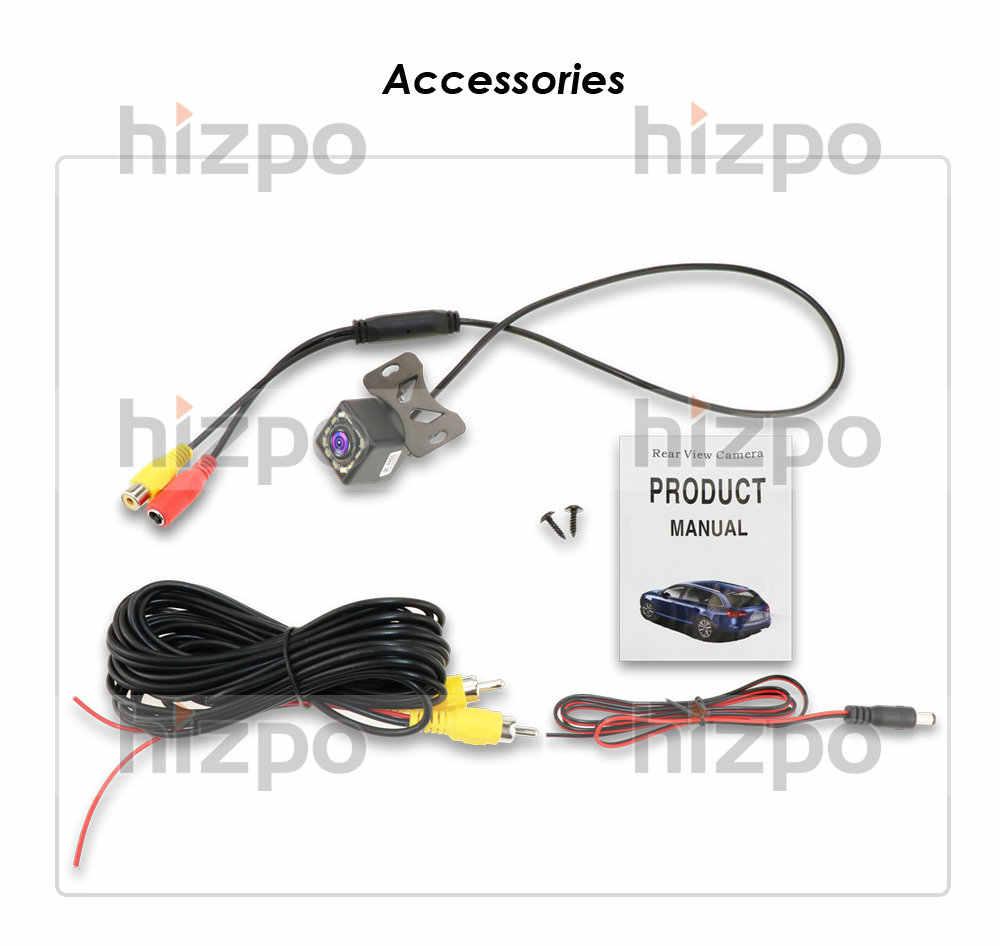 Ossuret Kamera Belakang Mobil Universal 12 LED Malam Visi Cadangan Parkir Mundur Kamera Tahan Air 170 Sudut Lebar HD Warna gambar