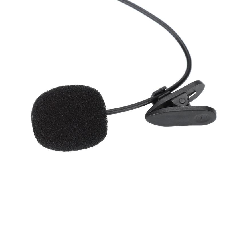 Mini micrófono Lavalier de 3,5mm, micrófono con enganche para teléfono inteligente, grabación de PC, solapa con Clip para hablar y cantar|micrófonos| - AliExpress