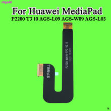cltgxdd T3 LCD Cables For Huawei Honor Play MediaPad T3 10 AGS-L03 AGS-L09 AGS-W09 LCD Display Flex Cable Connector Ribbon Parts(China)