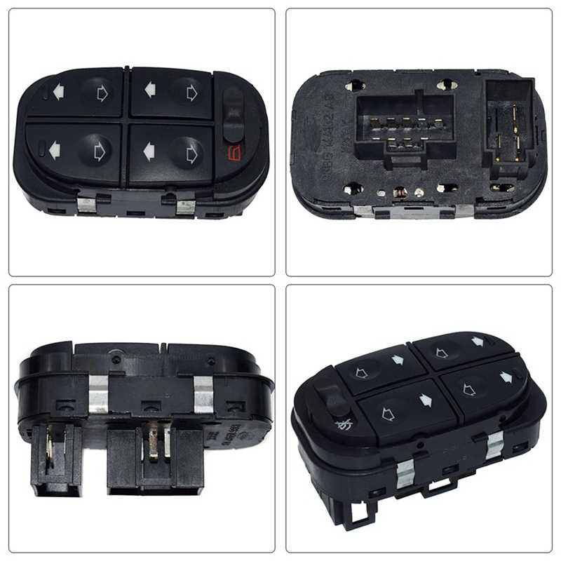 NEW Power Window Master Control Switch Window Switch Fit voor Ford Escort Mondeo 93-00 93BG14A132AB