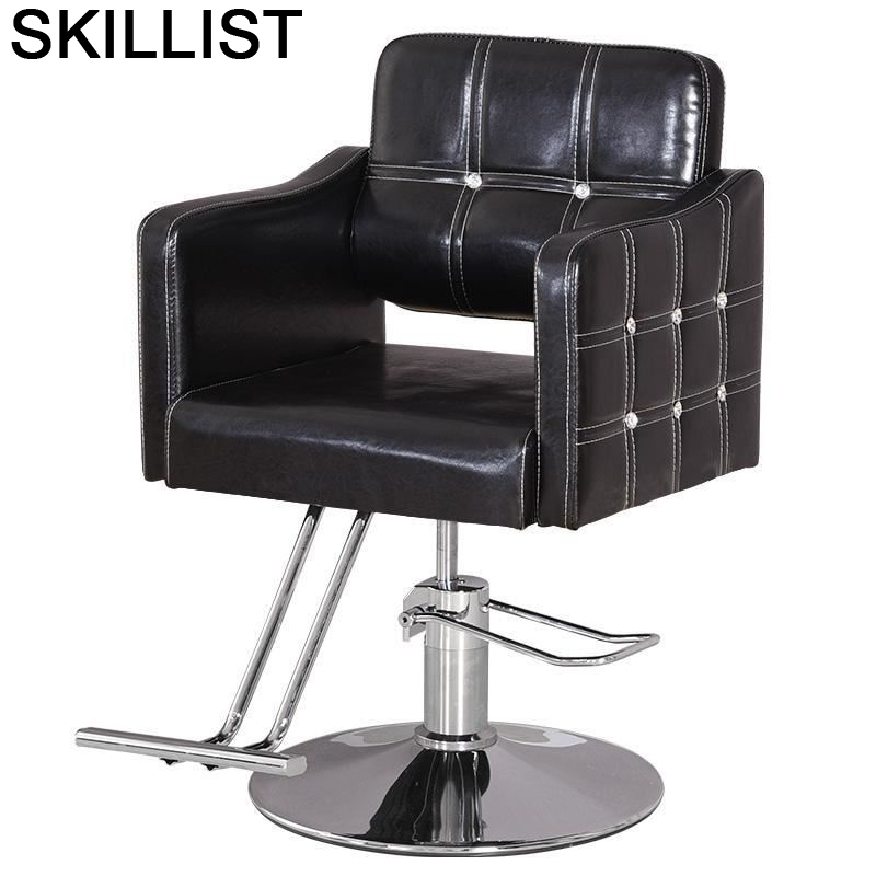 Sedia Kappersstoelen Makeup Barbeiro Chaise Beauty Furniture Stuhl Mueble Cadeira Salon Barbershop Silla Barbearia Barber Chair