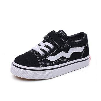 цена Cool 2020 New brand Fashion Big kids casual shoes high quality Canvas baby boys girls sports sneakers run tennis children shoes онлайн в 2017 году