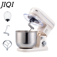 JIQI Electric Stand Food Mixer Processor 4L Egg Beater Batter Cream Whisk Whip Blender Dough Kneading Machine Cake Baking Tools
