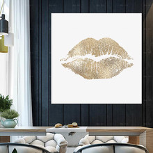 Lips Print Poster Wall Art Canvas Painting Picture Living Room Home Decoration Artwork perfume fashion poster eyelash lips makeup print canvas art painting pink flower wall picture modern girl room home decoration