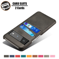 Funda de cuero PU de lujo con ranuras para tarjetas, para Google Pixel 6 Pro 6pro 4A 5G 3 3A 4 XL 5 A Pixel4a Pixel5 Pixel6