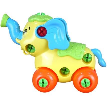 Подарки 2020 сборная игрушка животное слон Мамонт Комбинация и развивающие