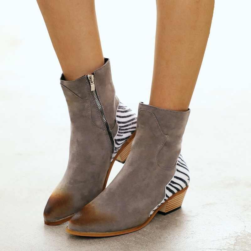 CYSINCOS kadın çizmeler yarım çizmeler roma sivri rahat patik İlkbahar sonbahar kadın çizmeler bayanlar batı streç kumaş botları