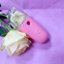купить Nano Hydrating Facial Spray Portable Handheld Humidifier Facial Moisturizing Steaming Face Beauty Equipment дешево
