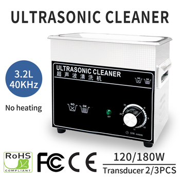 3.2L 180W /40khz Ultrasonic Cleaner Mechanical Household Ultrasound Cleaning for Jewelry Watches Table Ware Stone Diamond Dental