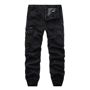 Image 2 - New 2019 Brand Casual Joggers Solid Breathable Pants Men Summer Army Military Style Trousers Mens Tactical Cargo Pants Male