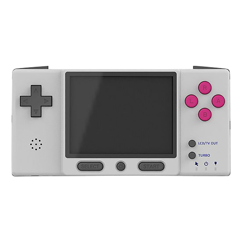 DIGIRETRO Boy Handheld Game Console for Retro Game Compatible with Official GBA Game Cards Gray