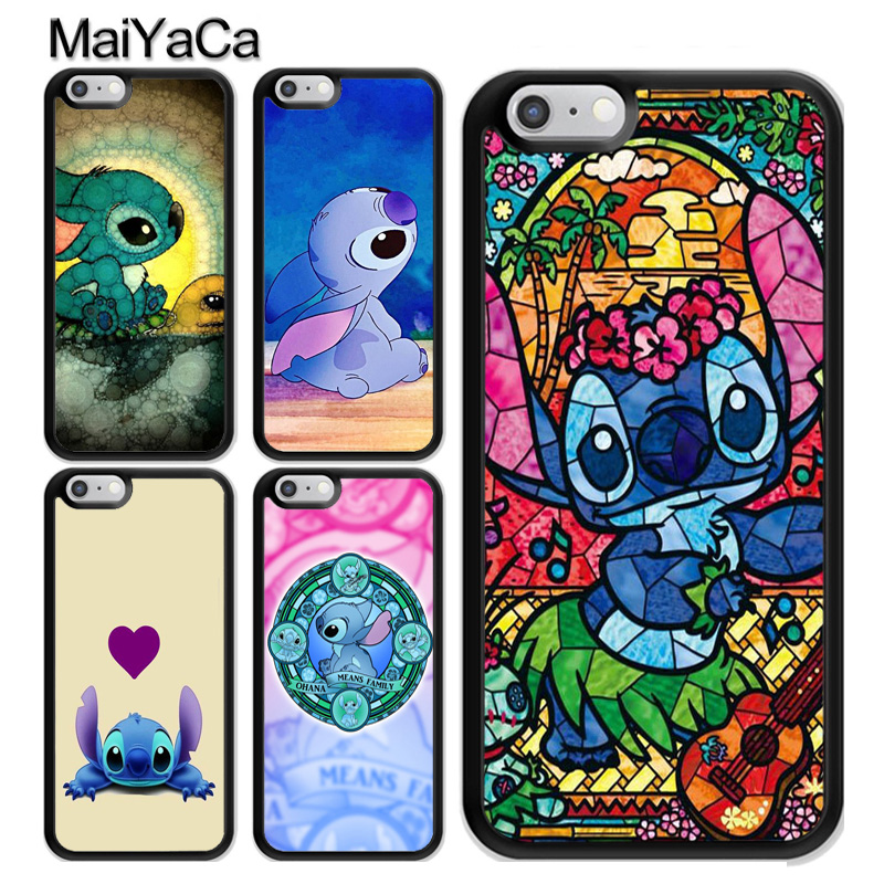 Disney Stitch Stained Glass iphone case