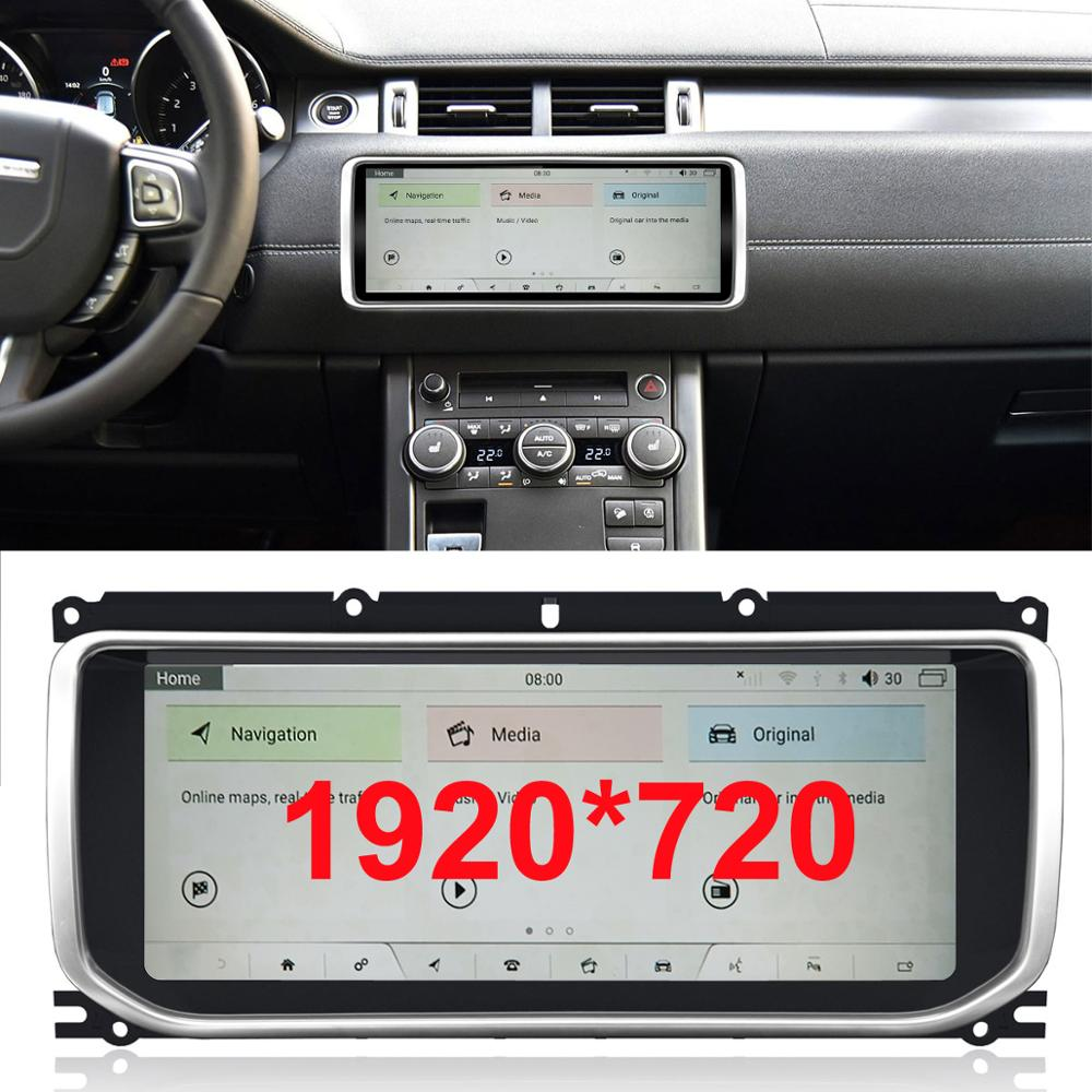 10.25 Inch Android 9.0 Upgraded Original Car Screen Multimedia Player For Land Rover Evoque 2012-2016 (original DVD, 8 Inch)