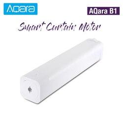 Оригинальный AQara B1 беспроводной умный моторизованный электродвигатель для занавесок 12 см/с WiFi/Голосовое управление/приложение Умный домаш...