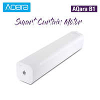 Original AQara B1 Wireless Smart Motorized Electric Curtain Motor 12cm/S WiFi/Voice/App Control Smart One-Key Home Kits 3030mAh