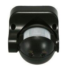 180 градусов Открытый IP44 Безопасности Инфракрасный датчик движения из PIR переключатель движения Детектор энергосберегающий автоматический переключатель освещения