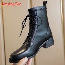 Ботинки krazing pot зимние из коровьей кожи для верховой езды