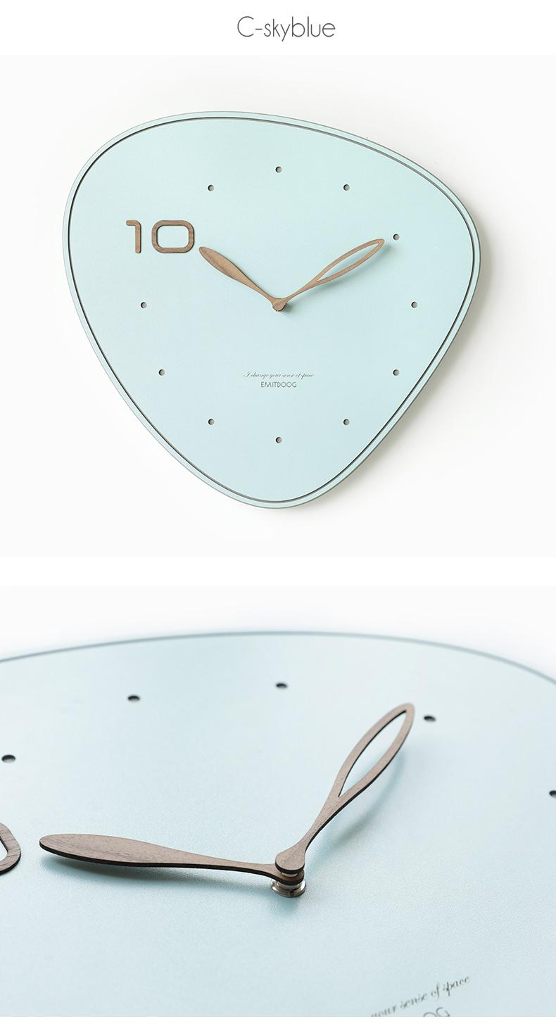 Minimalist Wall Clock for Living Room Decor