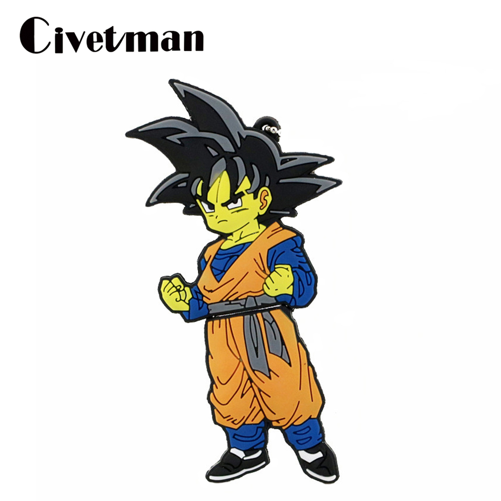 Pen Drive 4GB 8GB 16GB 32GB 64GB Cartoon Dragon Ball Goku Pendrive 128GB USB Flash Drive Memory Stick Child Gifts