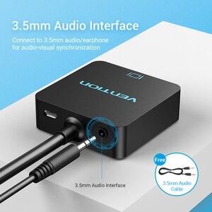 Image 3 - Vention HDMI VGA Convernet HDMI erkek VGA kadın adaptörü dijital Analog HD 1080P PC Laptop Tablet için PS4 HDMI VGA adaptörü