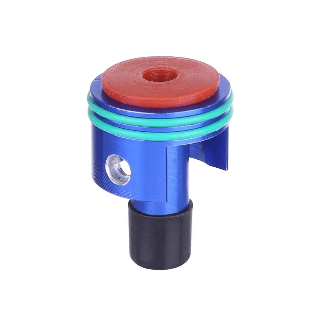 Cilindro de aire de reducción de ruido de amortiguador de Metal con boquilla de sellado de aire para LH AUG agua Gel Beads Blaster Espray de agua a alta presión de 140 Bar tierra Blaster Lance Turbo boquilla para Karcher K1 K2 K3 K4 K5 K6 K7 de alta presión de lavado