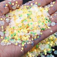 Sequin glitter mix estrela coração ponto em forma de colorido solto lantejoulas para shaker cartão nailart scrapbook decoração maquiagem confetes