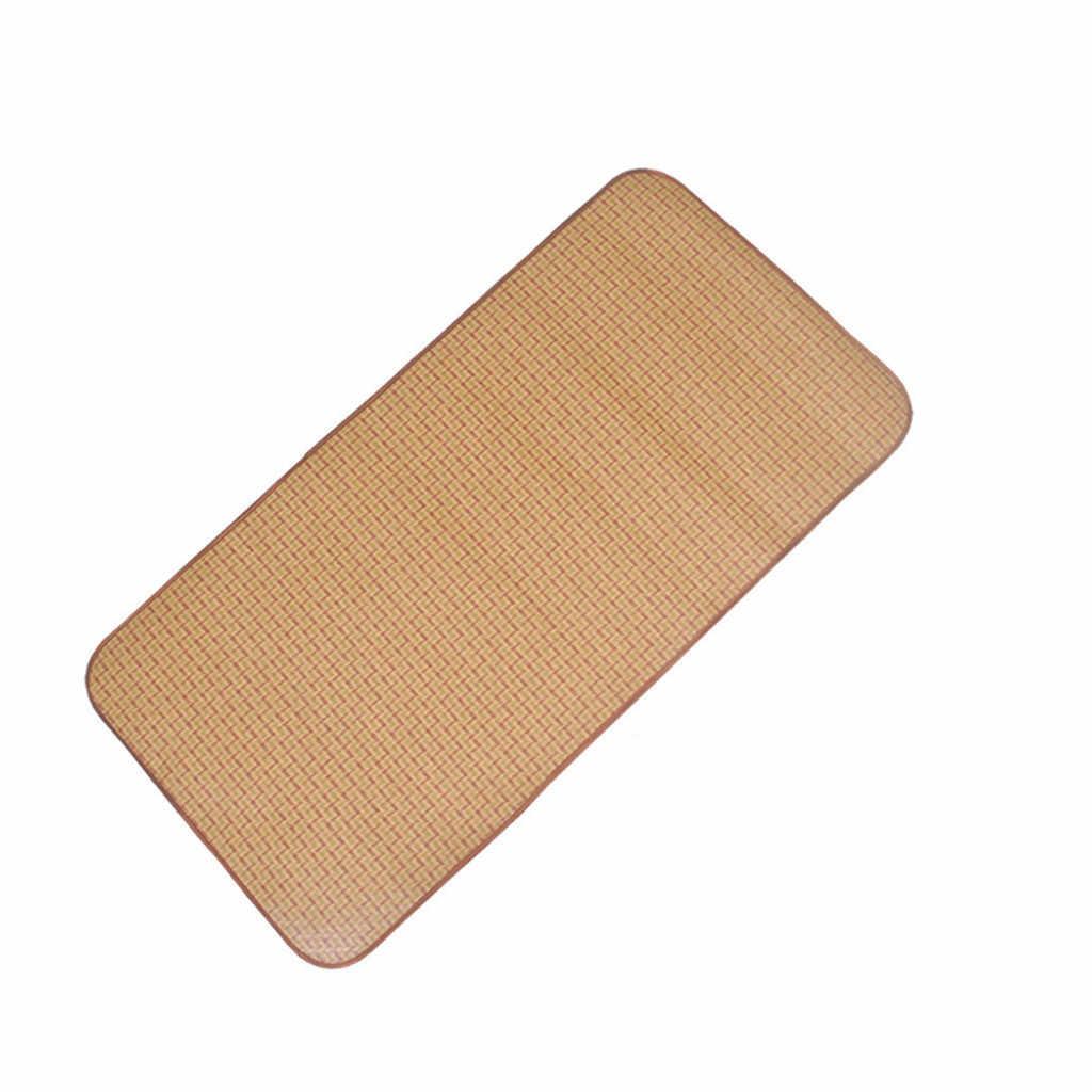 2020 zestaw maty letniej Rattan mata zestaw kawy fajne maty łóżko pokrywa spania len mata materac pokrywa narzuta dobra przepuszczalność powietrza
